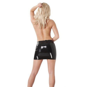Black Latex Seamless Skirt Sissy Panty Shop