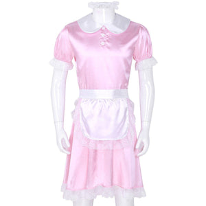 3 Pcs Sissy Girl Maid Uniform Sissy Panty Shop