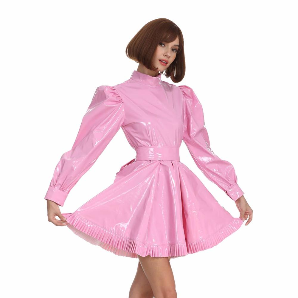 Lockable Pink Sissy Dress Sissy Panty Shop