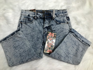 Acid Wash Bermuda Shorts
