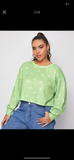 Plus Size Print Sweatshirt