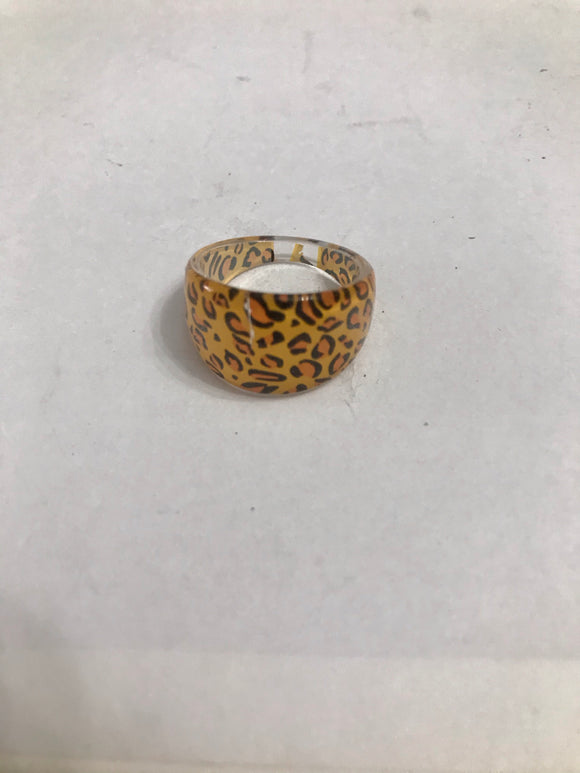Cheetah Print Ring