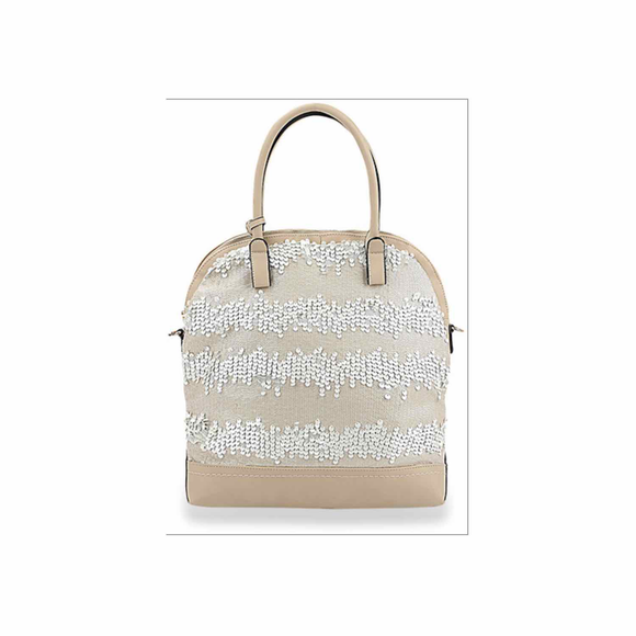 Sequin Embellished Handbag