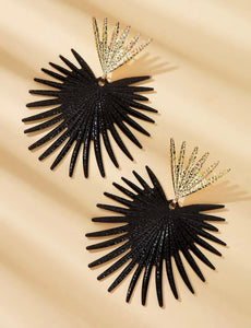 Spiked statement Earrings