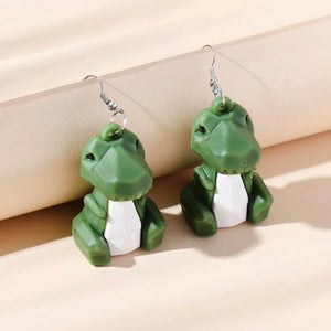Dinosaur statement Earrings