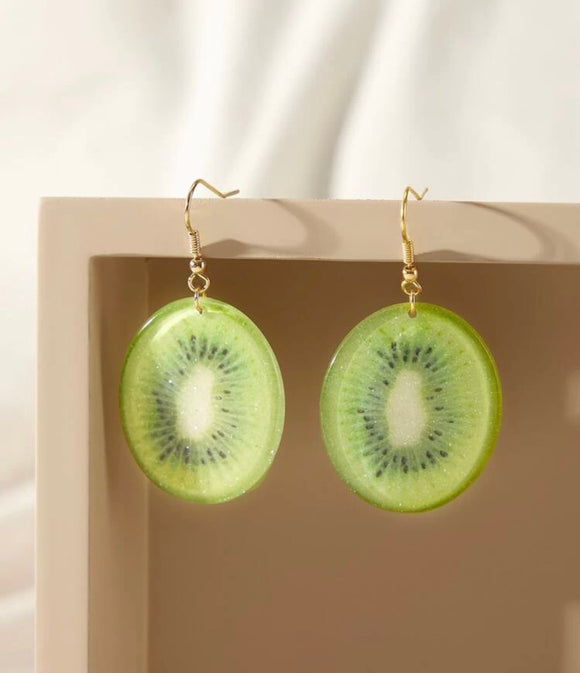 Kiwi Statement Earrings