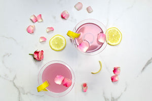 Rose Lemon Drop Martini Recipe