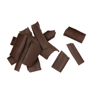 Chocolate Shavings-Dark out of packaging