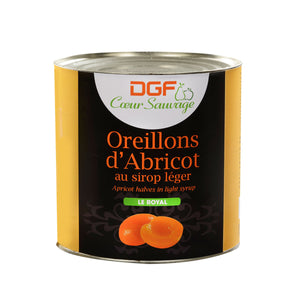 apricot halves in can 4.61 lb