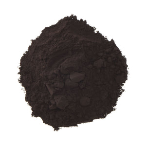 DGF Black Cocoa Powder in pile out of packaging