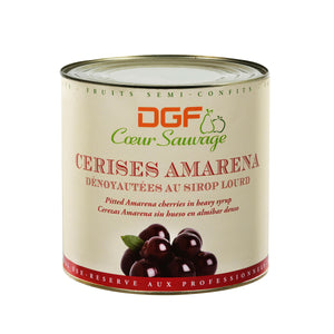 Amarena Cherries 7.13 lb can packaging