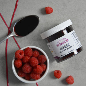 Bowl of Raspberries, Raspberry flavor paste 6 ounces
