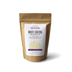 White confectionery coating in bag packaging 1 lb