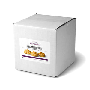 Large cream puff shell in packaging 10 pcs