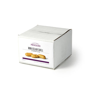 Mini eclair in box packaging 24 pcs