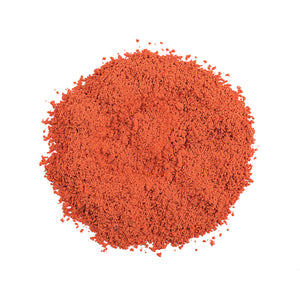Dry Colorant-Orange in pile out of packaging purcolour