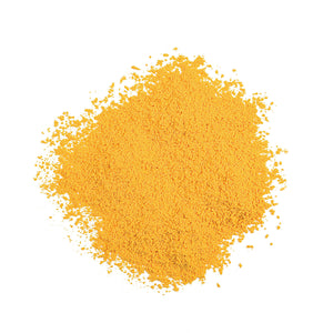 Dry Colorant-Yellow in pile out of packaging