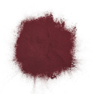 Dry Colorant-Purple in pile out of packaging purcolour