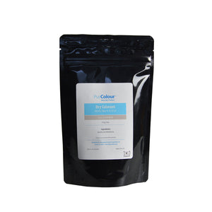 Dry colorant electric blue in bag packaging purcolour