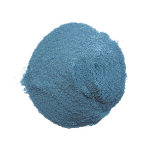 Dry Colorant-Electric Blue in pile out of packaging purcolour