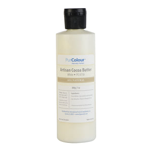 Cocoa Butter-White bottle purcolour