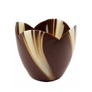 Medium marbled tulip cup detail out of packaging