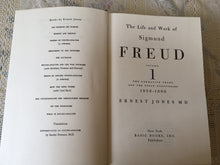 Load image into Gallery viewer, Rare Book, 1856-1900, Freud, Sigmund, The Life and Work, Vol 1.