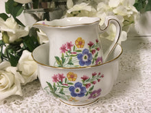 Load image into Gallery viewer, Royal Standard, Country Lane, spring flowers, Creamer and Sugar Bowl c.1960s