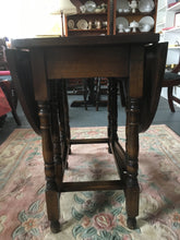 Load image into Gallery viewer, Antique Gateleg Table