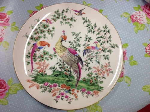 Royal Worcester, Fabulous Birds, beautiful plate from the collectors series.