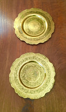 Load image into Gallery viewer, Antique Brass Trays c.1900