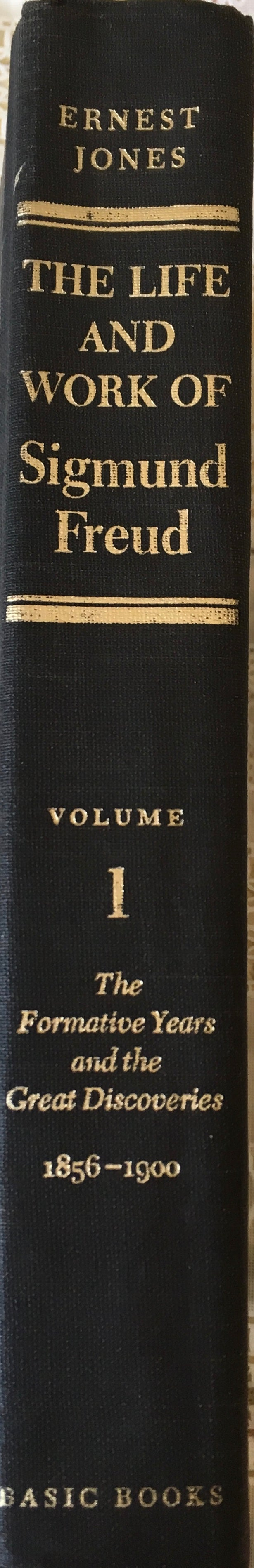 Rare Book, 1856-1900, Freud, Sigmund, The Life and Work, Vol 1.