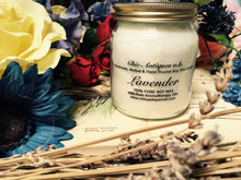 Load image into Gallery viewer, Lavender. Pure Soy Wax Candles. 12oz / 345ml (Large).  Aromatherapy Essential Oils