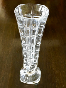 19th Century hobnail cut glass vase
