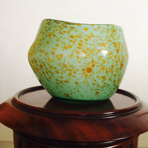 Murano, art glass, hand blown, Murano Vase, sculptured vase.