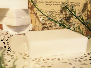 Tea Tree & Goat's Milk Soap.
