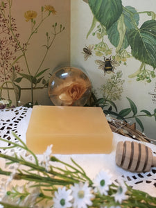 Honey & Lemongrass Soap.