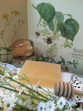 Load image into Gallery viewer, Honey & Lemongrass Soap.