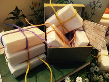 Load image into Gallery viewer, Honey Soap Gift Set. Three Honey Soaps with Lemongrass, Chamomile & Lavender.