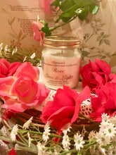 Load image into Gallery viewer, Rose, Pure Soy Wax Candle. 12oz / 345ml (Large). Aromatherapy Essential Oils