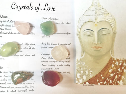 Heart Crystal Set