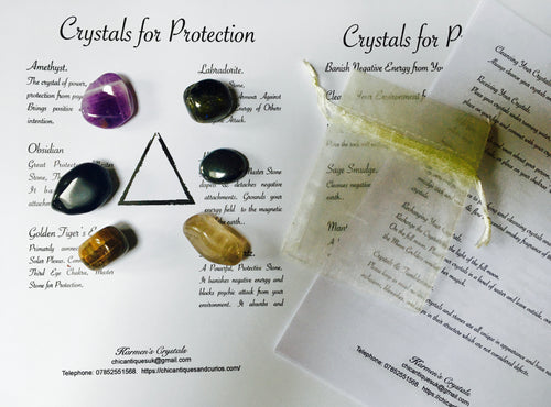 Crystals for Protection.