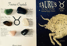 Load image into Gallery viewer, Taurus Crystal Set, Taurus Gemstone Set, Taurus Birthstone Set.