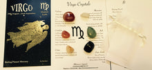 Load image into Gallery viewer, Virgo Birthstones Crystal Set, Virgo Crystals
