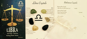 Libra Birthstones Set, Libra Crystals, Libra Zodiac Sign