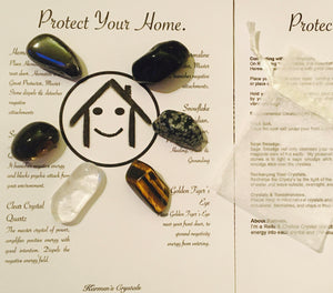 Crystals for Protection.  Crystals Home Protection. Protect your Home