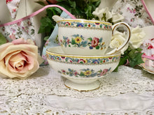 Load image into Gallery viewer, E B Foley, Ming Rose pattern, Creamer and Sugar Bowl c.1950s