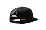 Cap Plate Trucker - Black