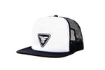 Cap Plate Trucker - Black/White