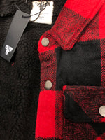 Campera Lamb - Con Corderito  Red/Black